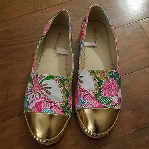 Lilly Pulitzer for Target floral espadrille flats
